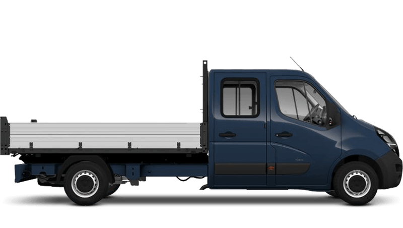 Vauxhall Movano Conversions New Crew Cab Tipper
