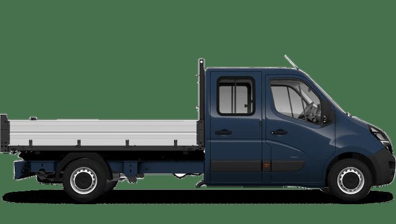 Vauxhall Movano Conversions New Crew Cab Tipper