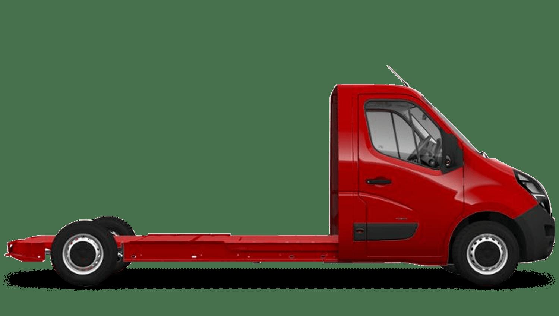 Poppy Red (Brilliant) New Vauxhall Movano Conversions