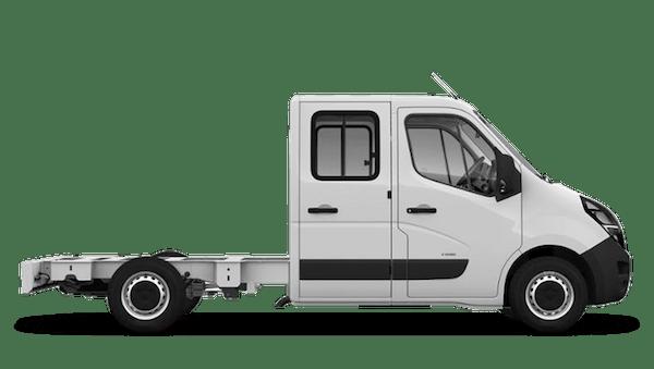 Vauxhall Movano Conversions New Crew Cab Dropside