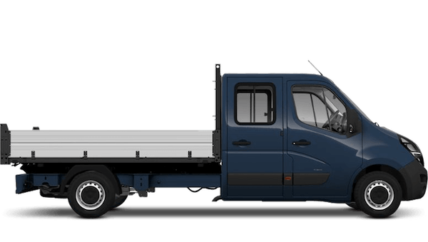 New Vauxhall Movano Conversions Crew Cab Tipper