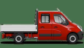 Vauxhall Movano Crew Cab Dropside