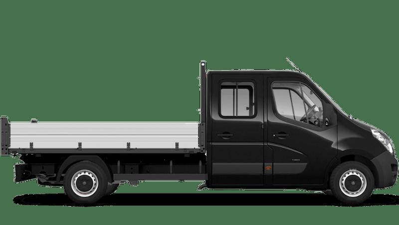 Pearl Black (Metallic) Vauxhall Movano Crew Cab Tipper