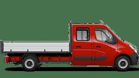 Movano Crew Cab Tipper