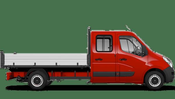 Vauxhall Movano Crew Cab Tipper