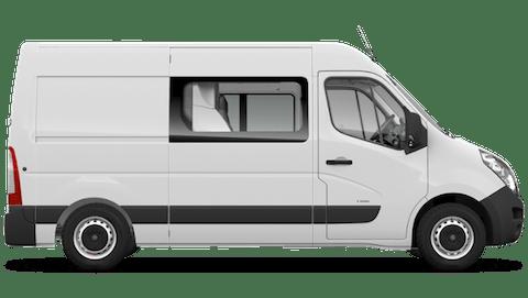 Vauxhall Movano Doublecab