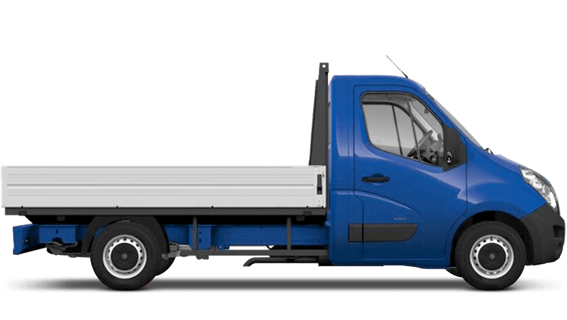 North Sea Blue (Solid) Vauxhall Movano Dropside