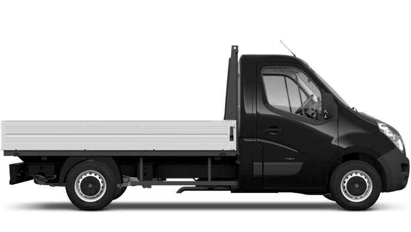 Pearl Black (Metallic) Vauxhall Movano Dropside