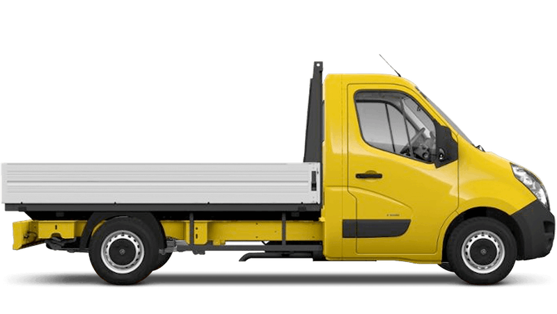 Saffron Yellow (Solid) Vauxhall Movano Dropside