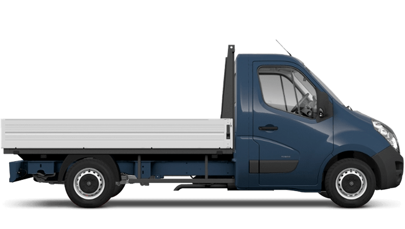 Signal Blue (Solid) Vauxhall Movano Dropside