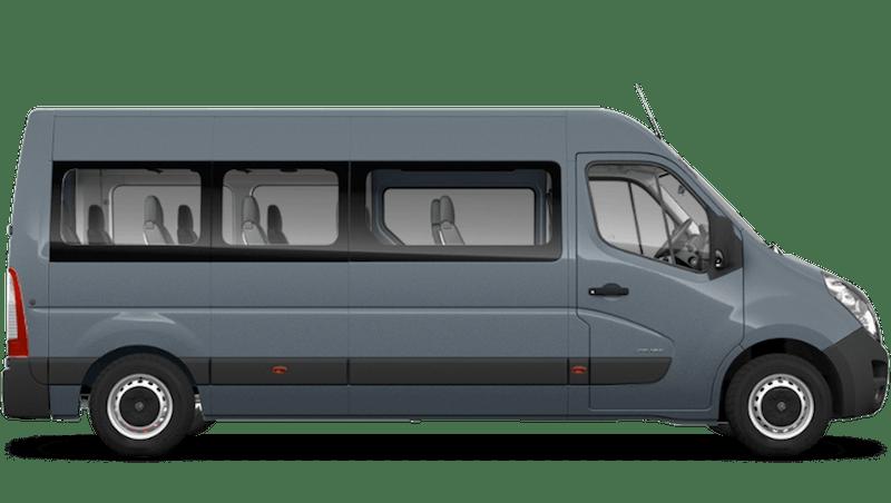 Ambient Blue (Metallic) Vauxhall Movano Minibus