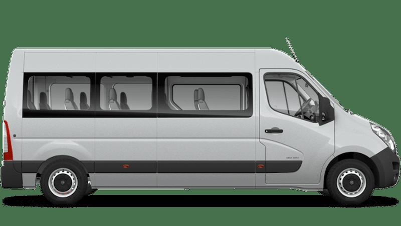 Halo Silver (Metallic) Vauxhall Movano Minibus