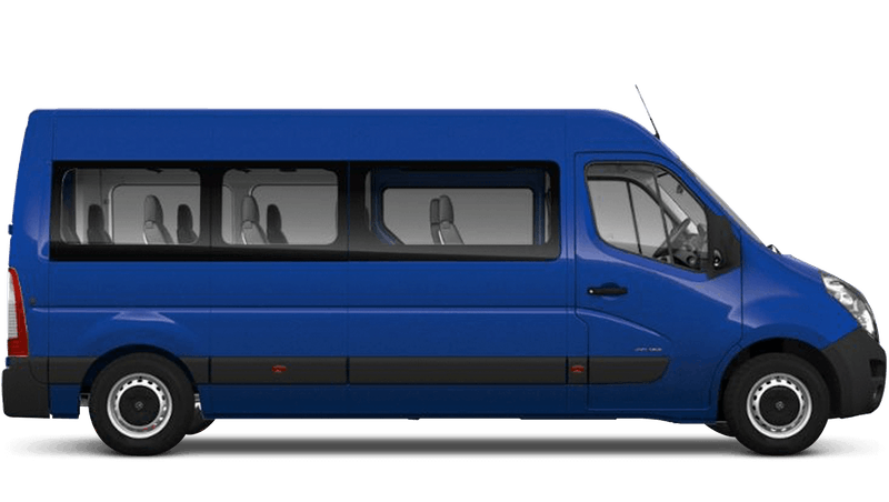 North Sea Blue (Solid) Vauxhall Movano Minibus