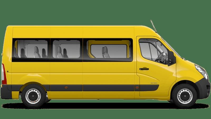 Saffron Yellow (Solid) Vauxhall Movano Minibus