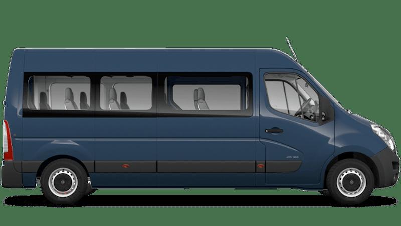 Signal Blue (Solid) Vauxhall Movano Minibus