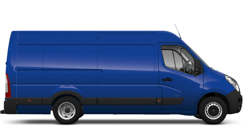 North Sea Blue (Solid) Vauxhall Movano Panel