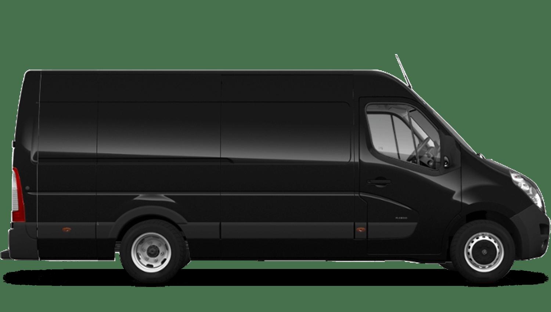 Pearl Black (Metallic) Vauxhall Movano Panel