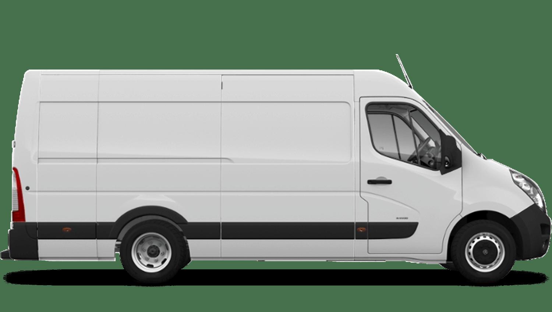 Polar White (Solid) Vauxhall Movano Panel
