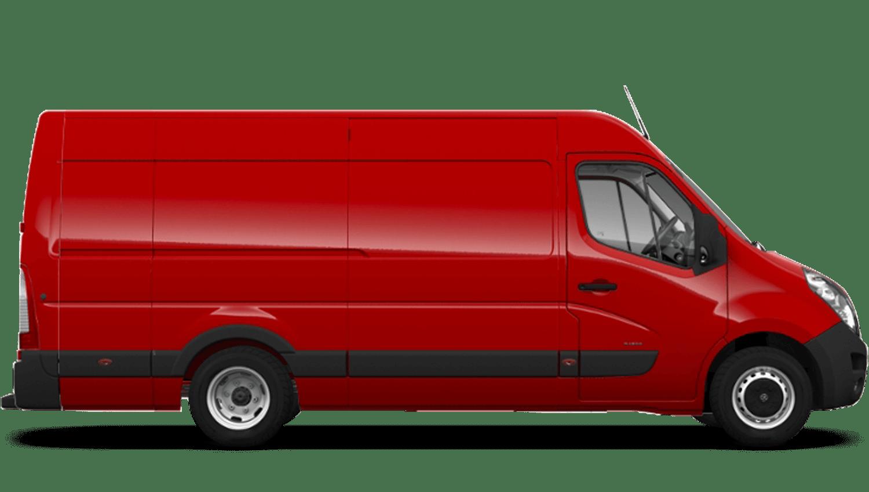 Poppy Red (Brilliant) Vauxhall Movano Panel