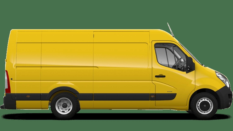 Saffron Yellow (Solid) Vauxhall Movano Panel