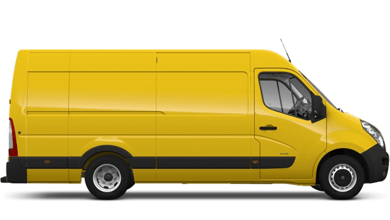 Saffron Yellow (Solid) Vauxhall Movano Panel
