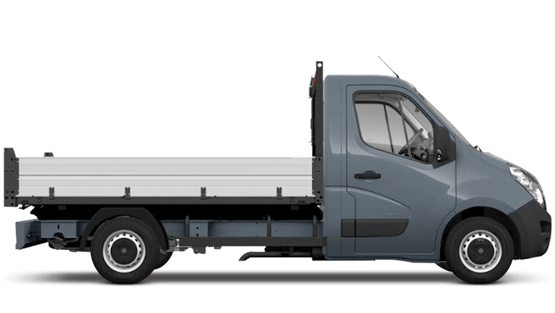 Ambient Blue (Metallic) Vauxhall Movano Tipper