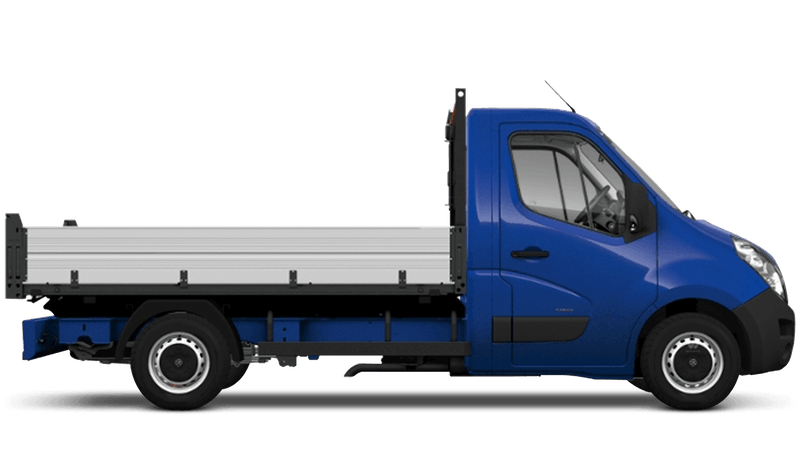 North Sea Blue (Solid) Vauxhall Movano Tipper