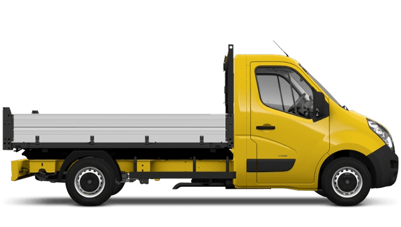 Saffron Yellow (Solid) Vauxhall Movano Tipper