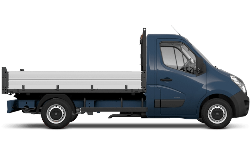 Signal Blue (Solid) Vauxhall Movano Tipper