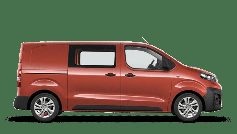 Amber Red (Metallic) New Vauxhall Vivaro