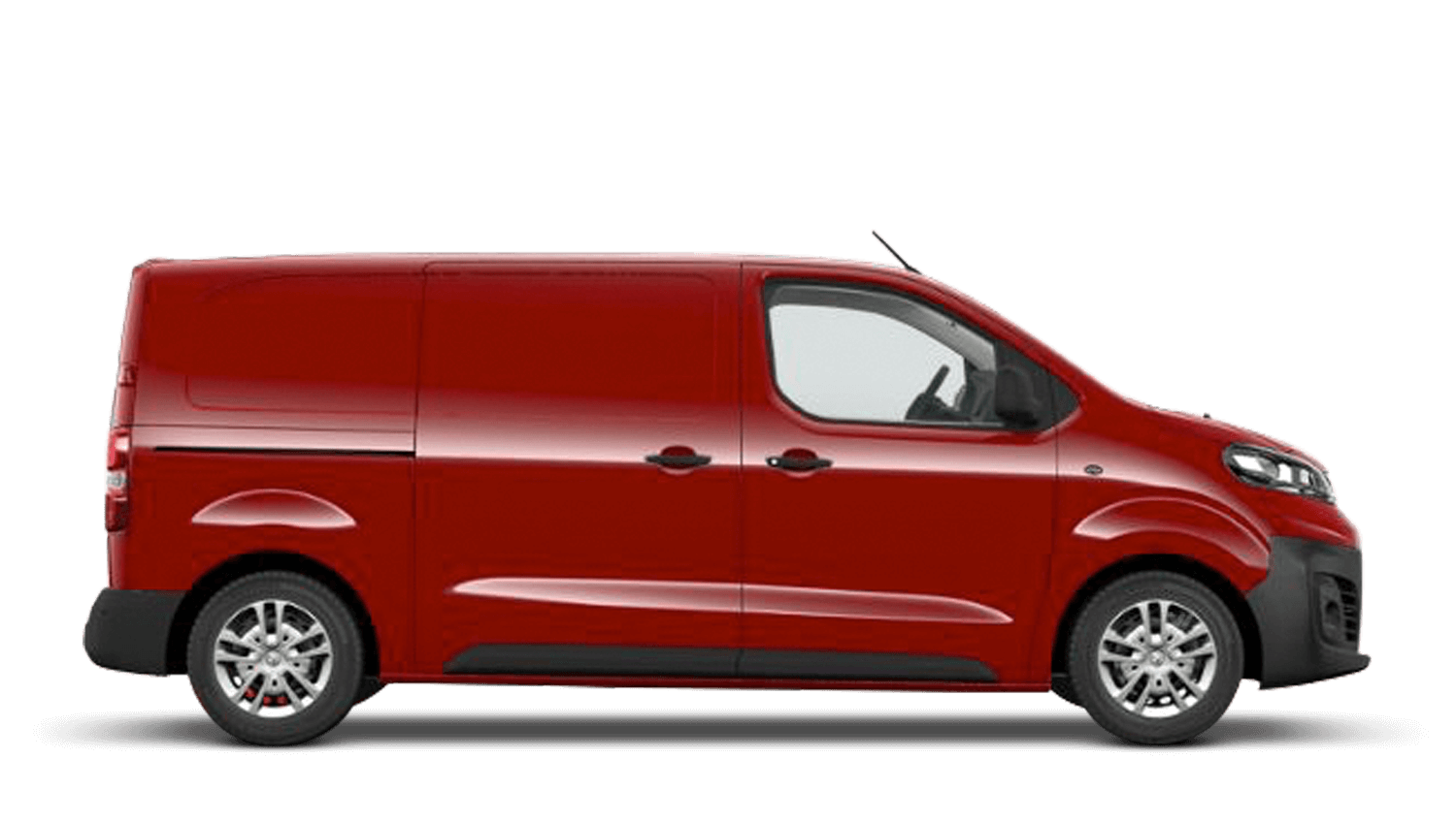Flaming Red (Brilliant) New Vauxhall Vivaro