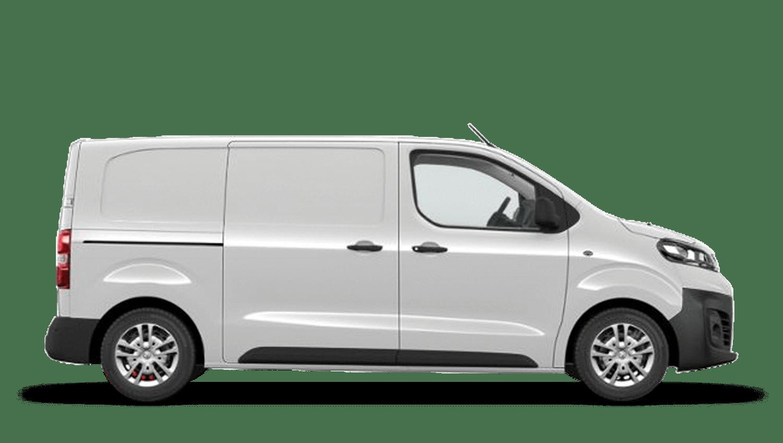 White Jade (Solid) New Vauxhall Vivaro