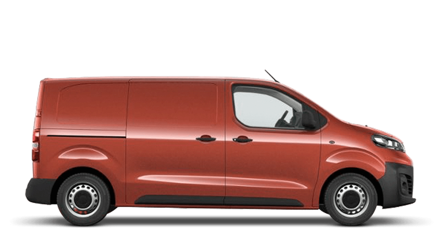 Amber Red (Metallic) New Vauxhall Vivaro