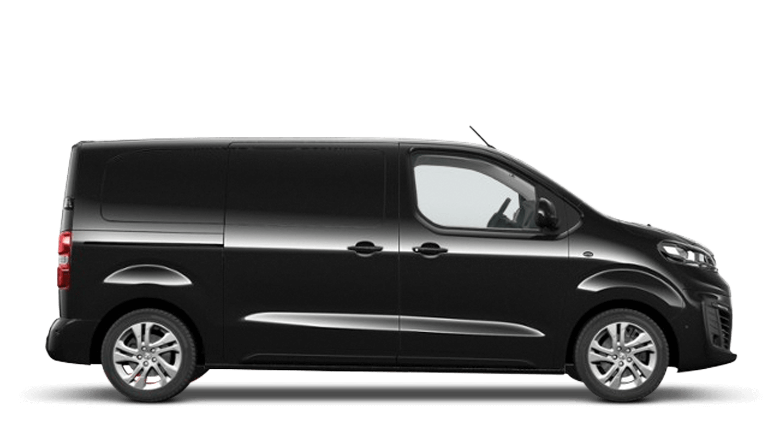 Diamond Black (Metallic) New Vauxhall Vivaro