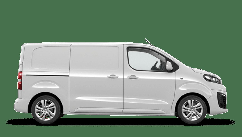 White Jade Vauxhall Vivaro