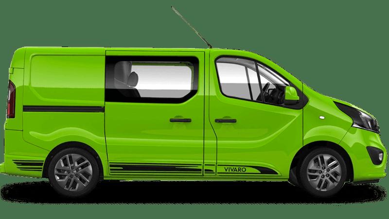 Vauxhall Vivaro Doublecab Limited Edition Nav