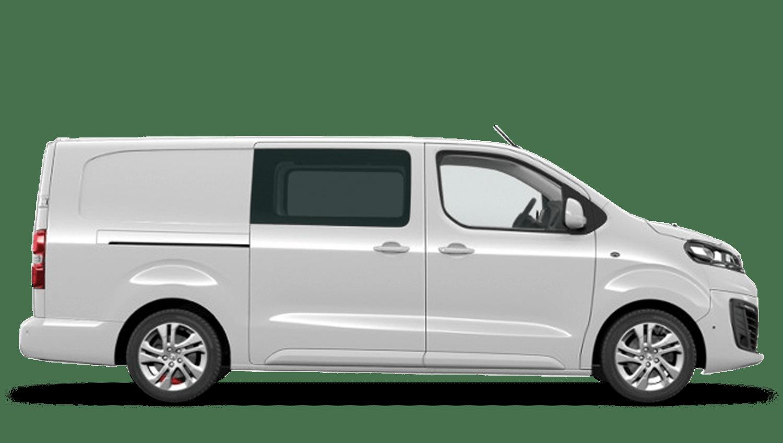 White Jade (Solid) Vauxhall Vivaro