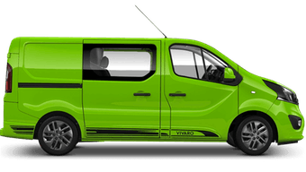Vivaro Doublecab Limited Edition Nav