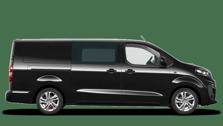 Diamond Black (Metallic) Vauxhall Vivaro