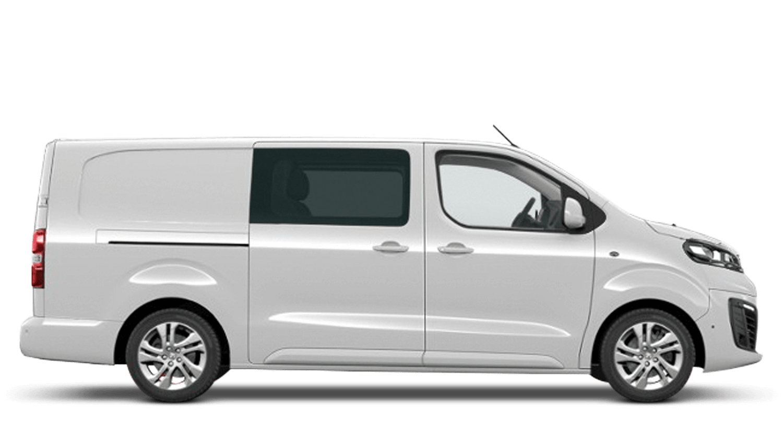 White Jade (Solid) Vauxhall Vivaro-e