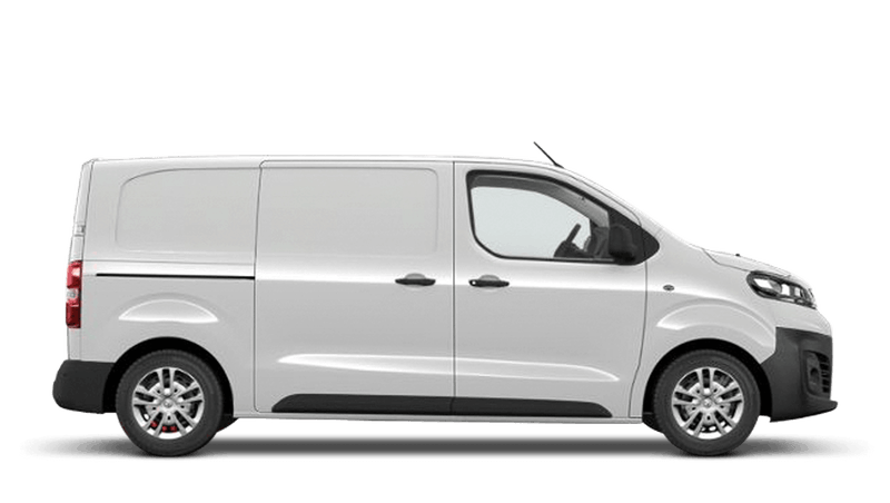 White Jade (Solid) Vauxhall Vivaro E