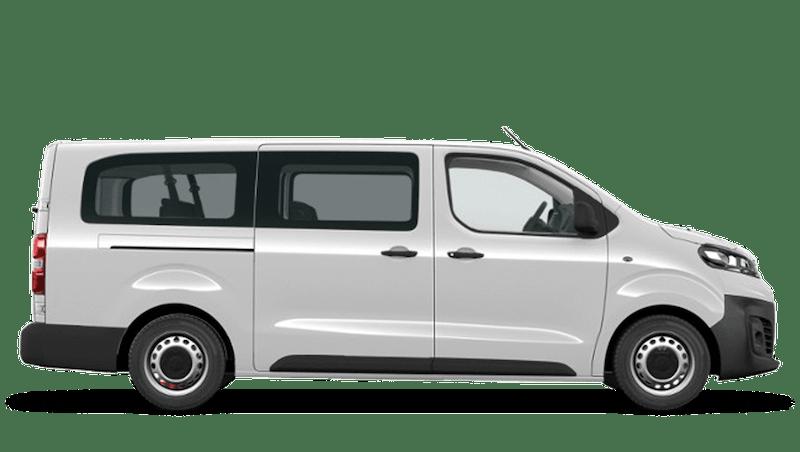 White Jade Vauxhall Vivaro e Life