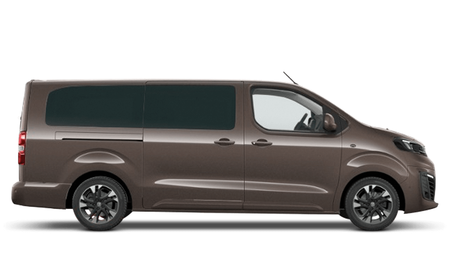 Rich Oak Brown Vauxhall Vivaro-e Life