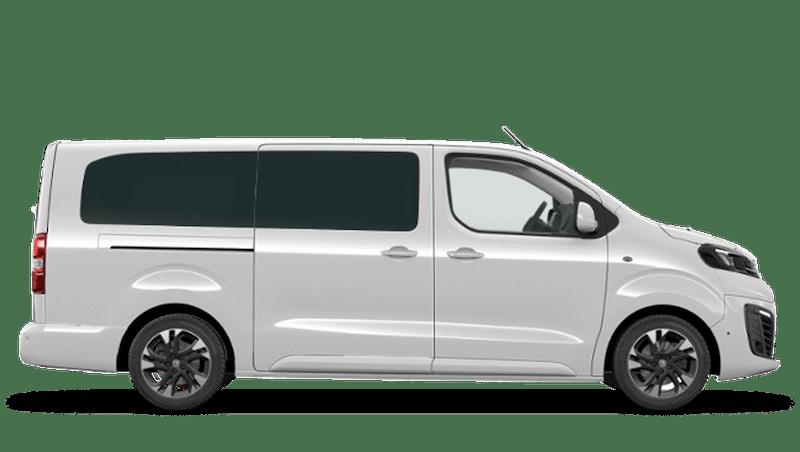 White Jade Vauxhall Vivaro-e Life