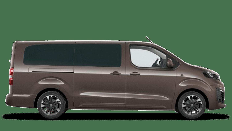 Rich Oak Brown Vauxhall Vivaro-e Life