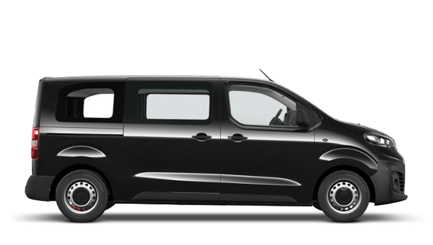 Diamond Black (Metallic) Vauxhall Vivaro Life