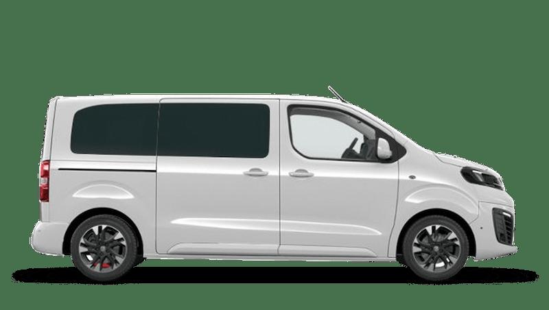 White Jade (Solid) Vauxhall Vivaro Life