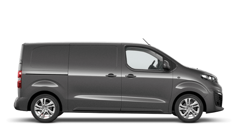 Platinum Grey Vauxhall Vivaro