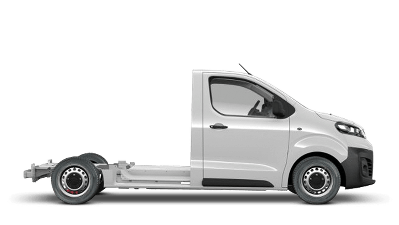 Vauxhall Vivaro Platform Cab Edition