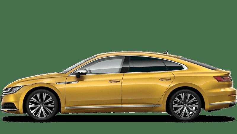 Turmeric Yellow (Metallic / Pearl) Volkswagen Arteon